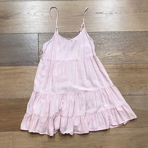 BABYDOLL TIER RUFFLE DRESS